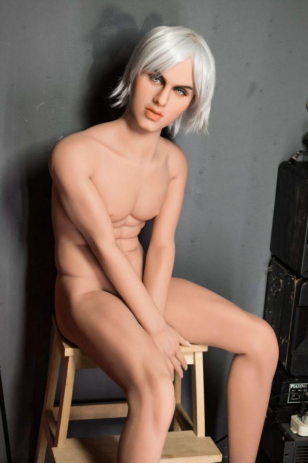 160cm 5ft3 Male TPE Sex Doll Cyan Amodoll