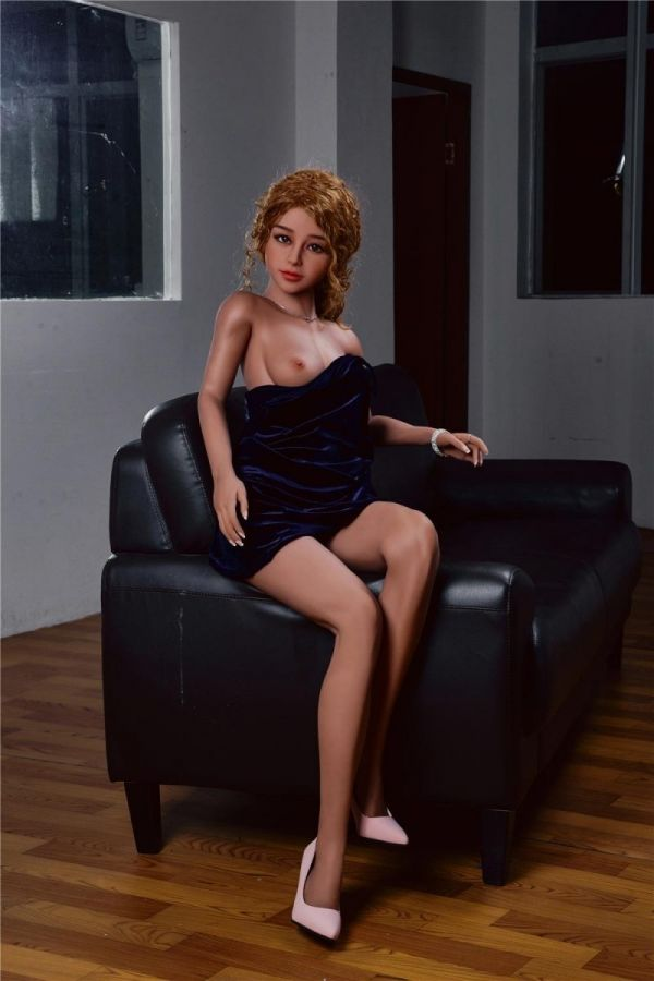 150cm 4ft11 Blonde Sexy Life Like Sex Doll for Man Phillis