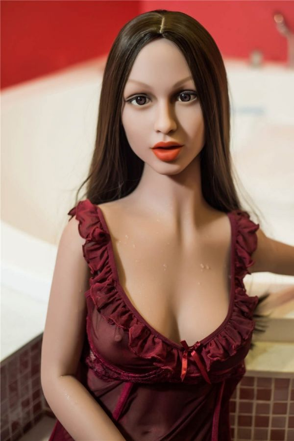 155cm 5ft1 Most Realistic TPE Sex Doll with Slim Body Alexia