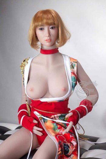 158cm 5ft2 Mcup Silicone Head Sex Doll Viola Amodoll
