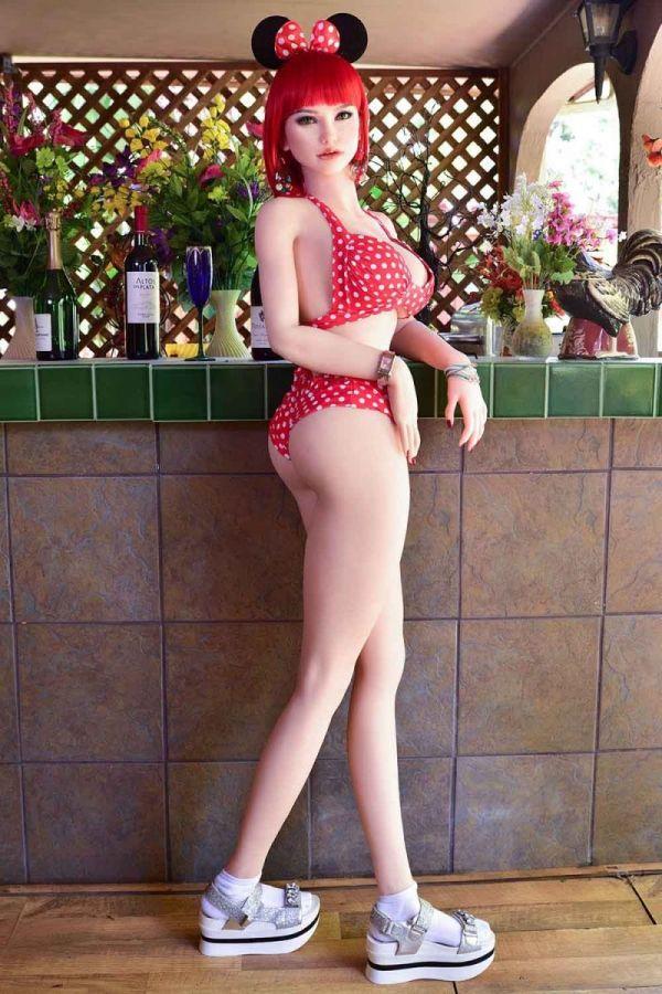 162cm 5ft4 Gcup Silicone Sex Doll Scarlett Amodoll
