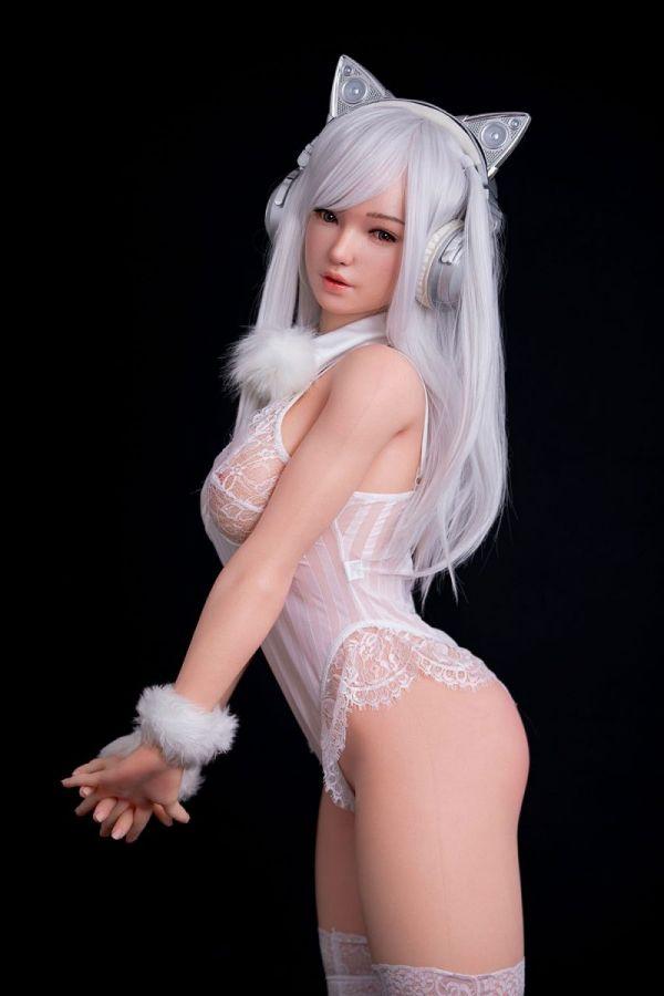 162cm 5ft4 Gcup Silicone Sex Doll Kuiwai Amodoll
