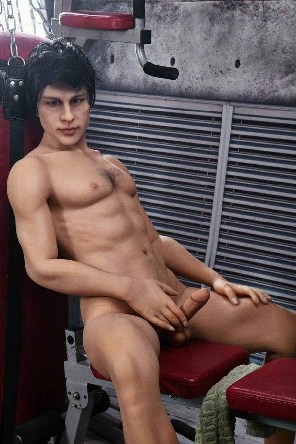 162cm 5ft4 Male TPE Sex Doll Charles Amodoll