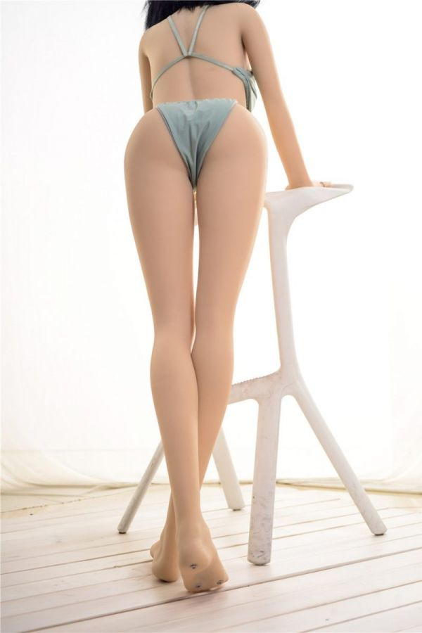 155cm 5ft1 Skinny Sexy TPE Sex Doll Coral