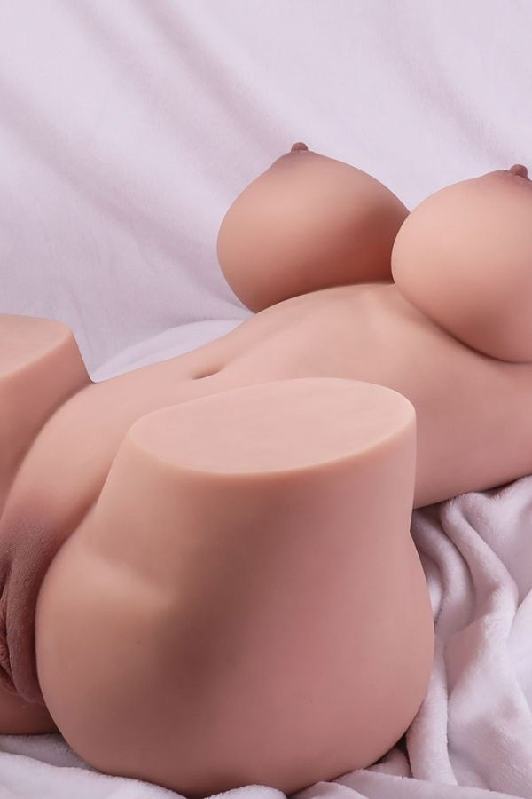 65cm 2ft1 3D Realistic Doll Torso TPE Sex Toys for Man Amodoll