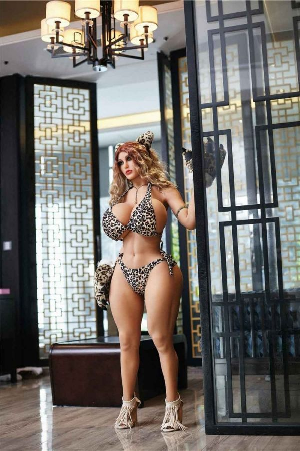 140cm 4ft7 BBW Hourglass Fat Real Sex Doll Anthea