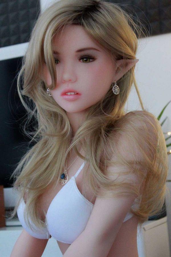 145cm 4ft9 Slim ELF Young Real Sex Doll Dora