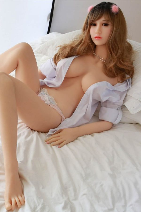 158cm 5ft2 Skinny Love Doll with Mediurm Breasts Hot Sex Doll -Laylah