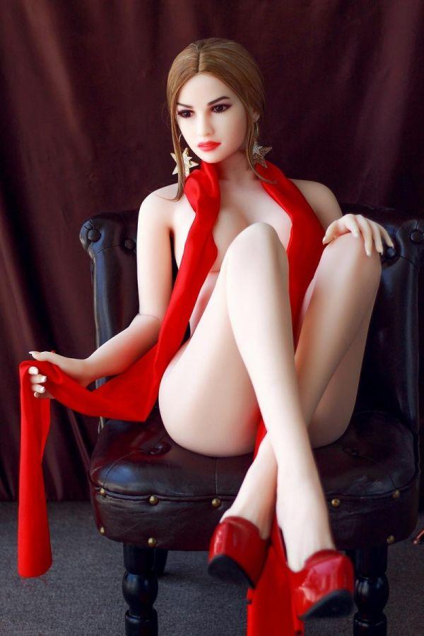 158cm 5ft2 Super Hot Blonde Sex Doll Mature Lifelike Love Doll -Ida