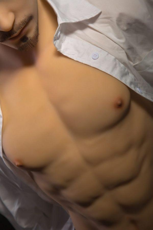 85cm 2ft10 Male Sex Torso TPE Sex Doll for Female Billy