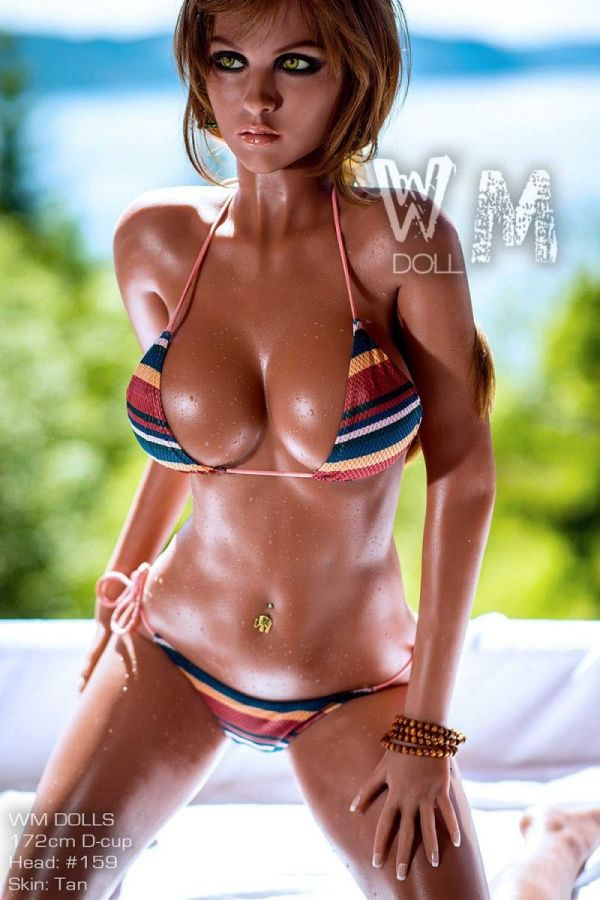 172cm 5ft8 Ultra Sexy Tanned Sex Doll Beach Honey Love Doll -Wilma
