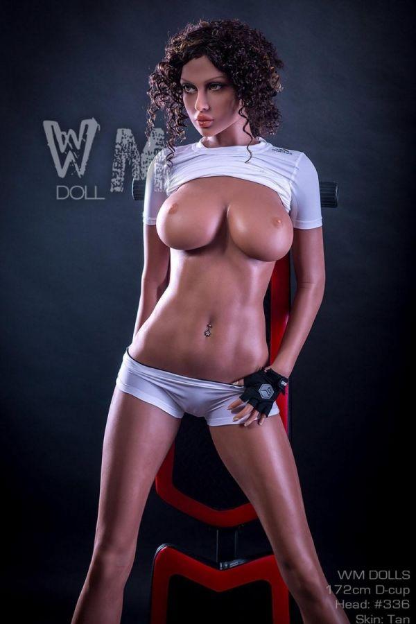 172cm 5ft8 Muscular Slim Sex Doll Sporty Love Doll- Whitney