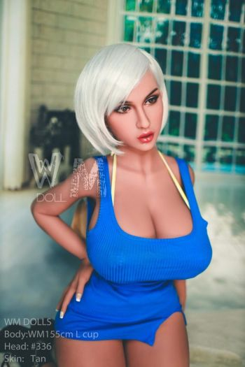 155cm 5ft1 Super Sexy Huge Breasts Thick Thighs Realistic Sex Doll -Toby
