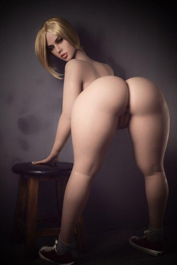 163cm 5ft4 Big Breast Wide Hips Fat Sex Doll for Men- Carlota