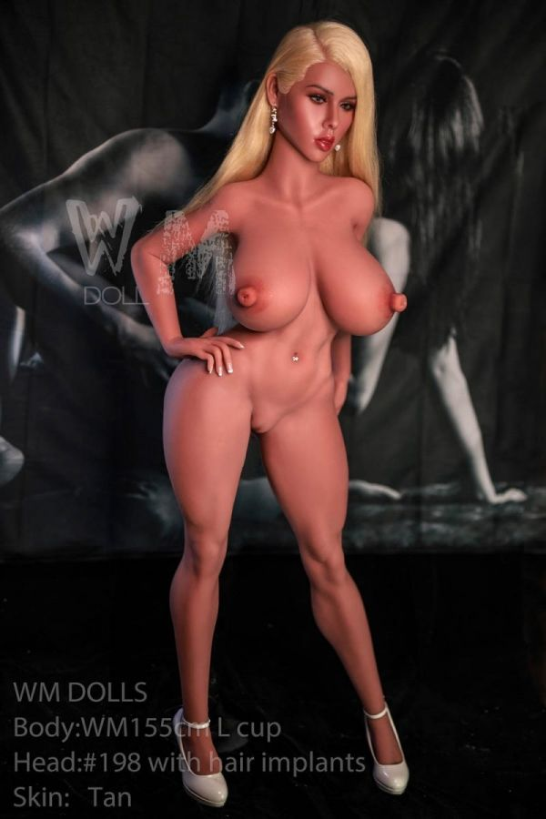 155cm 5ft1 Super Realistic Large Boobs Female Sex Doll -Tobey