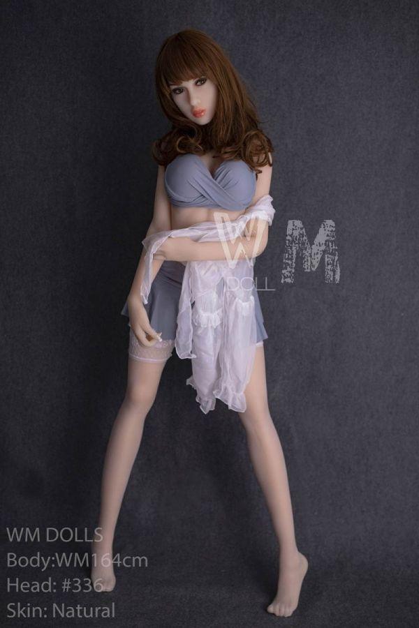 164cm 5ft5 Nature Skin Real Sex Doll Porn Love Doll for Men -Winona