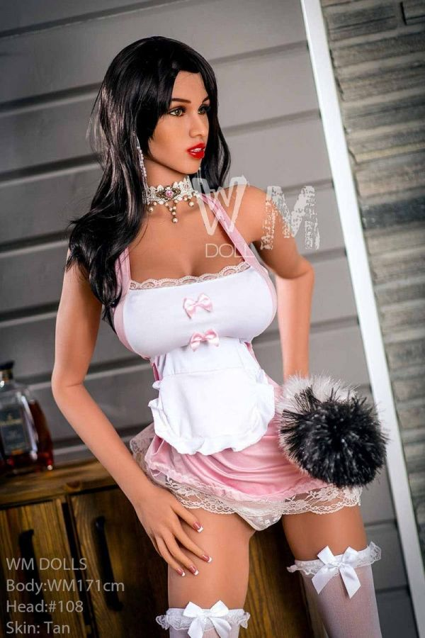 171cm 5ft7 Super Sexy Slim Sex Doll with Big Boobs -Waltraud