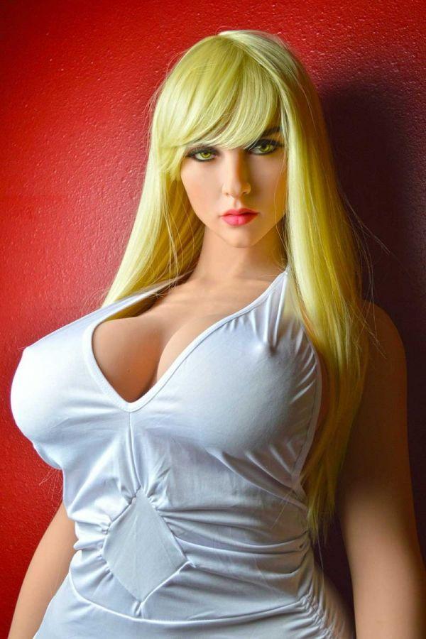 163cm 5ft4 Big Tits Fat Hips Super Realistic Love Doll Carolyn