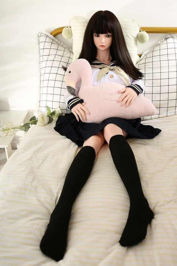 145cm 4ft9 Cute Japanese Realistic Silicone Sex Doll -Kelsie