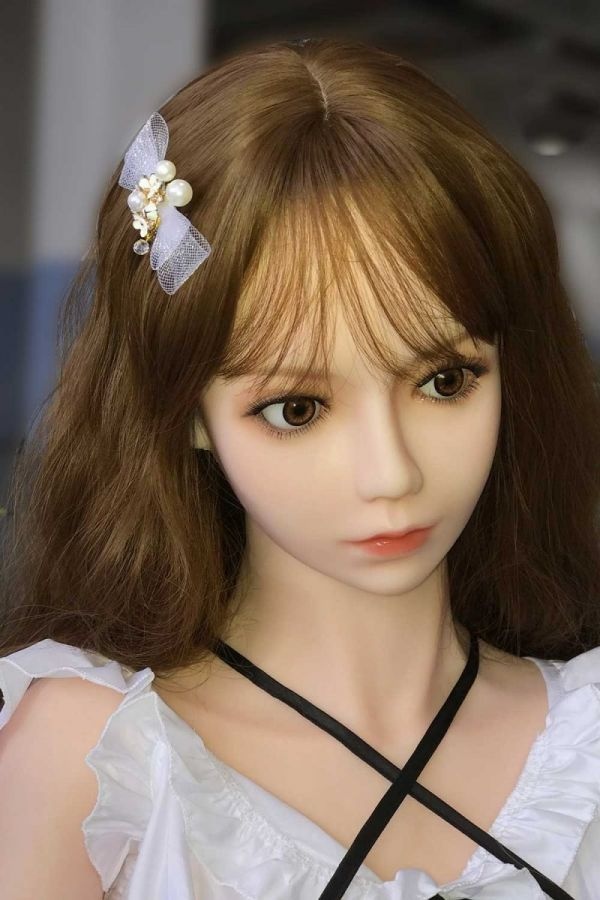 145cm 4ft9 Small Real Sex Doll Silicone Love Doll -Alisson