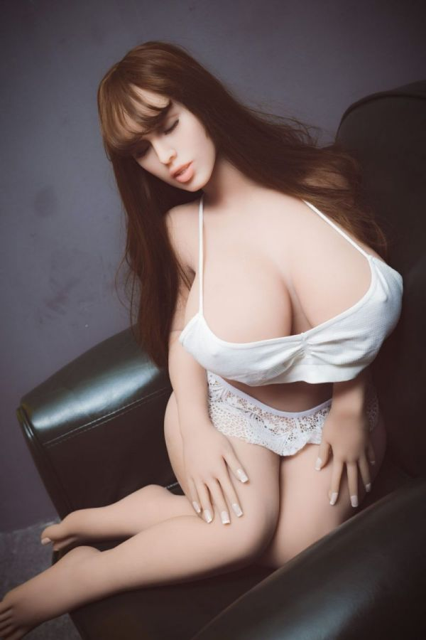 108cm 3ft7 Sleeping Beauty Mini TPE Sex Doll with Big Breasts Cheyenne