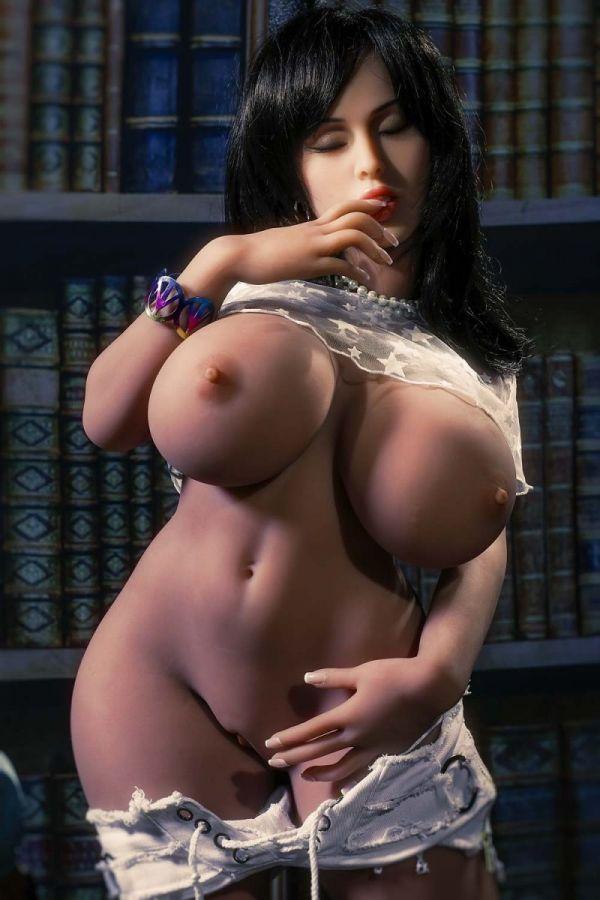 108cm 3ft7 Big Breasts Wide Hips Mini Sex Doll -Collin