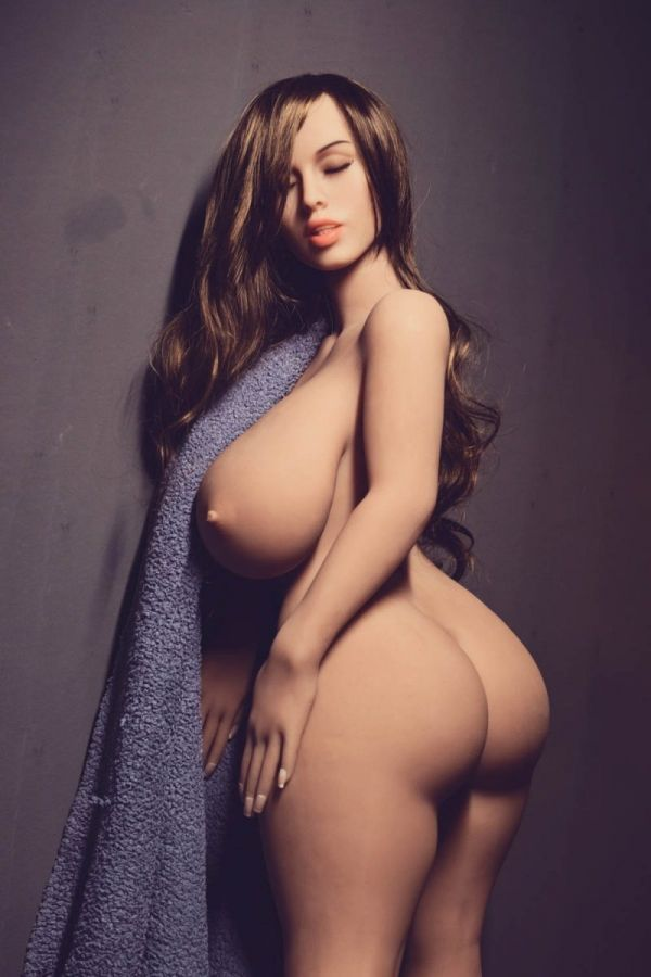 108cm 3ft7 Fat MILF Sex Doll with Big Tits Carson