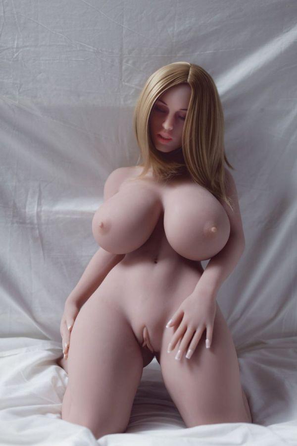 108cm 3ft7 Super Sexy Big Breasts Mature Women TPE Sex Doll Damien