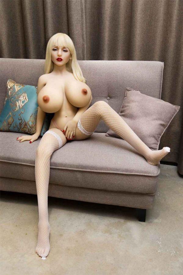 150cm 4ft11 Giant Boobs Slim Real TPE Sex Doll Qearl