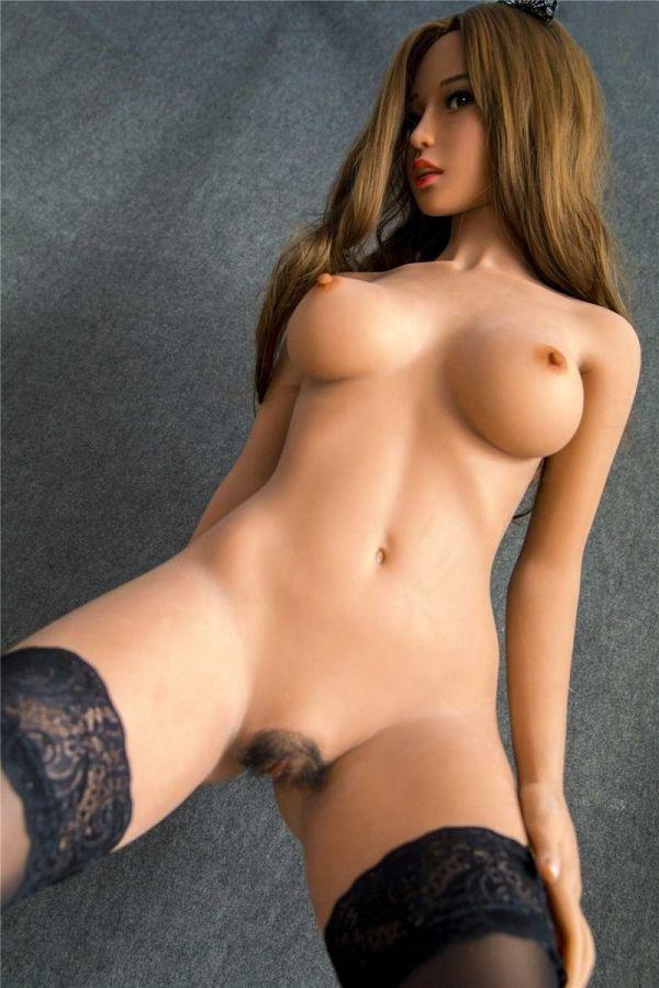 158cm 5ft2 Curvey Realistic TPE Sex Doll -Una