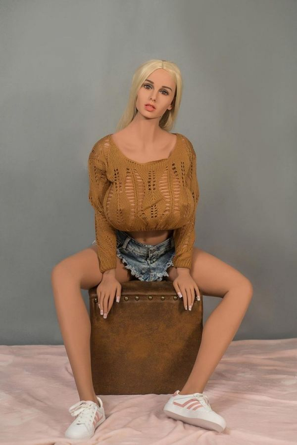 170cm 5ft7 Huge Breasts Mature TPE Real Sex Doll -Lydia