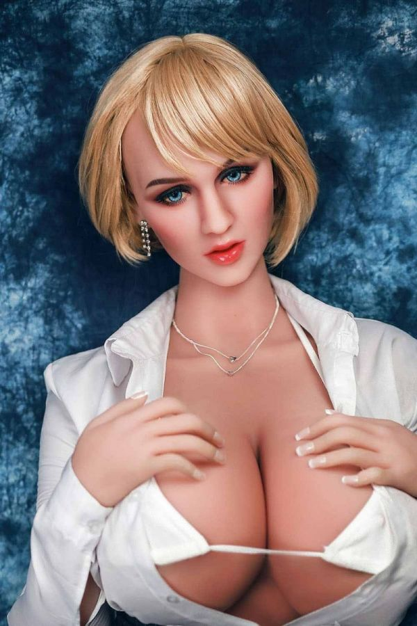 156cm 5ft1 WM Giant Breasts Fat Hips Mature Real Sex Doll -Elizabeth