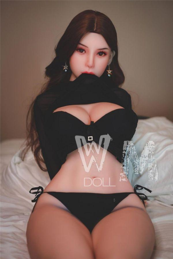 156cm 5ft1 Beautiful Fat Korean Girl Super Real Sex Doll -Joyce