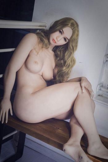 156cm 5ft1 Super Real Plump Blonde Sex Doll -Grace
