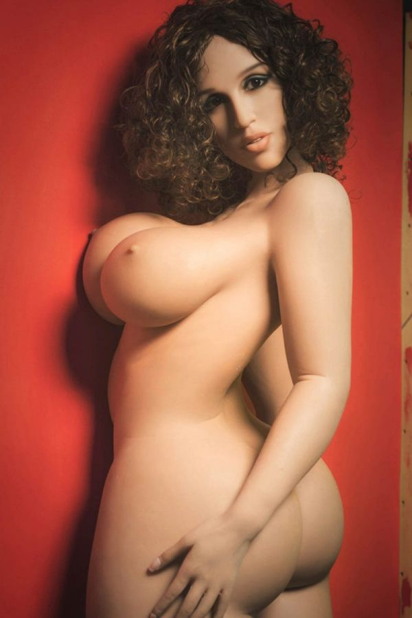 163cm 5ft4  Super Sexy Chubby Real TPE Sex Doll -Leah