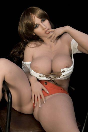 163cm 5ft4 Big Breasts Fat Asses Lifelike Sex Doll -Zoe