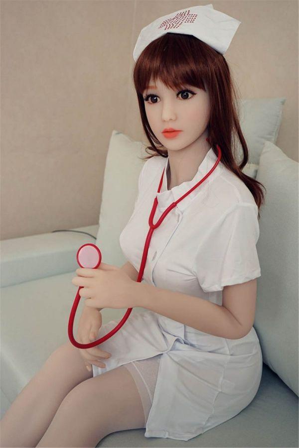 163cm 5ft4  Lifelike Gentle Nurse Girl Sex Doll -Lesley