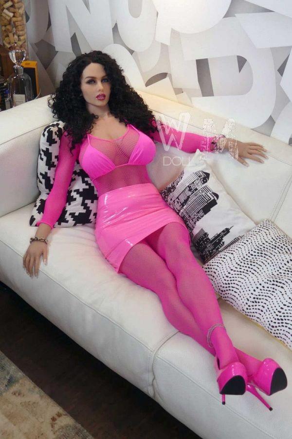 167cm 5ft6 Super Sexy Mature Lifelike Sex Doll -Cristal
