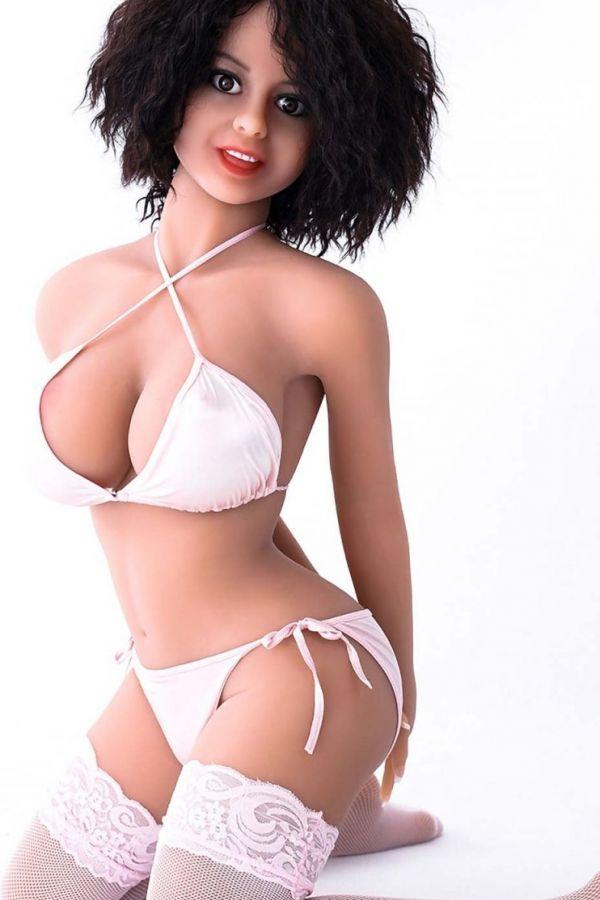 140cm 4ft7 Lovely Latin Lifelike Sexy Love Doll for Man Violet