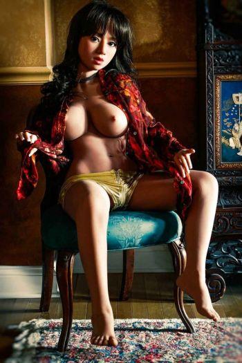 135cm 4ft5 Gcup TPE Sex Doll Crystal Amodoll