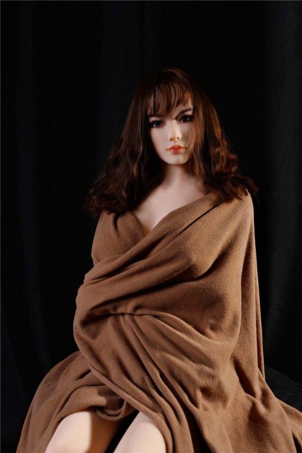 158cm 5ft2 Large Boobs Korean Girl Sex Doll for Man Ada