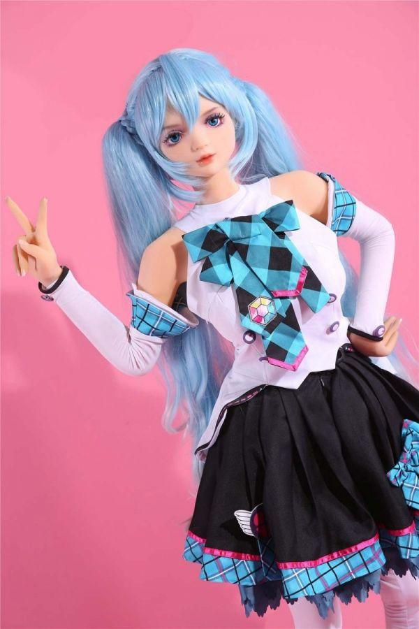 158cm 5ft2 Cute Manga Sex Doll Anime Love Doll Lizzy
