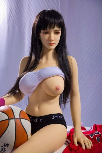 158cm 5ft2 Sex Football Girl Sex Doll with Big Boobs Caitlin