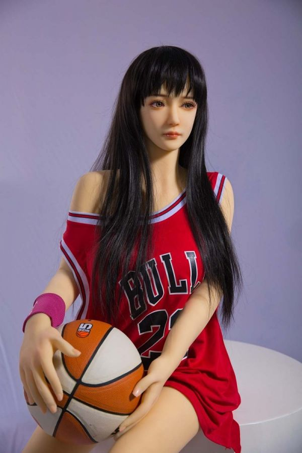 158cm 5ft2 Sex Football Girl Sex Doll with Big Boobs Caitlin