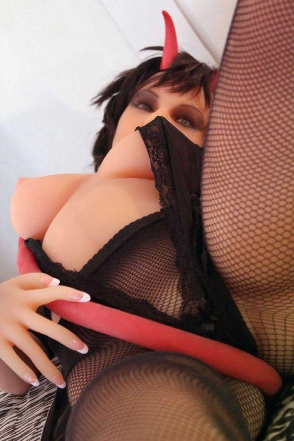 155cm 5ft1 Gcup TPE Sex Doll Demon Amodoll