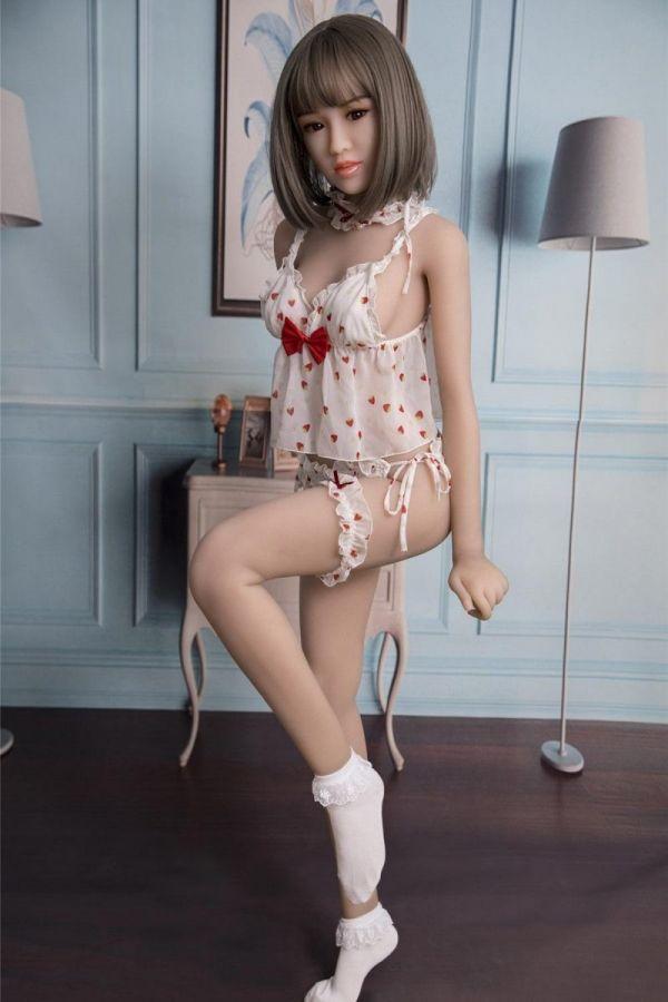 149cm 4ft10 Full Body Lifelike TPE Sex Doll Lennon