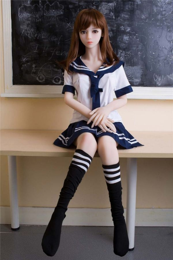 146cm 4ft9 Slim College Student Sex Doll Holly