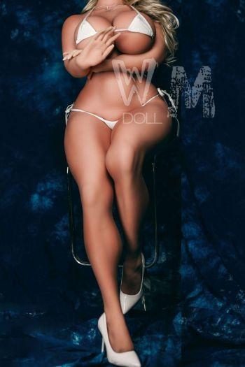 145cm 4ft9 Dcup Silicone Hyper Realistic Silicone Sex Doll Alva Amodoll