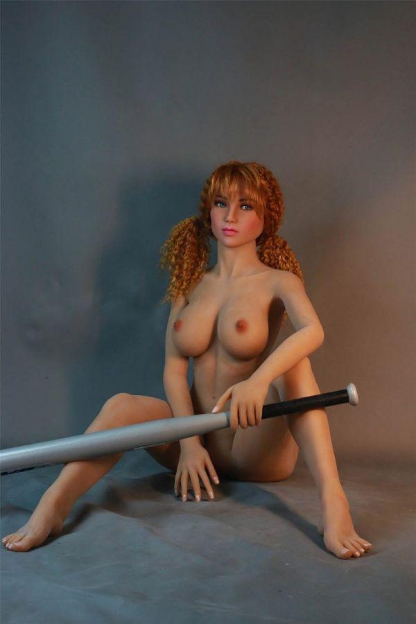 146cm 4ft9 Big Breasts Lifelike Sex Doll Judith