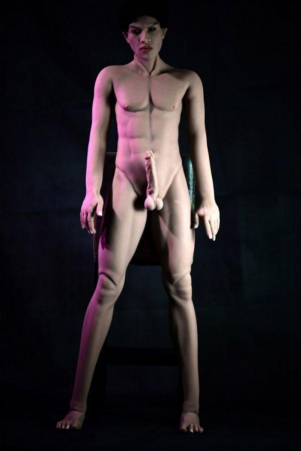 167cm 5ft6 Male TPE Sex Doll Cyril Amodoll